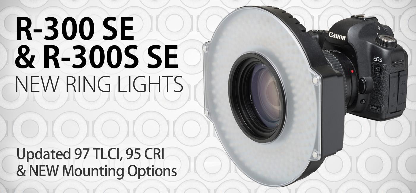 NEW R-300 SE and R-300S SE Ring Lights